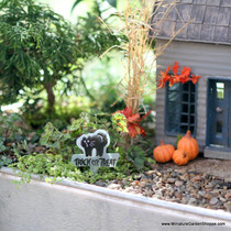 Halloween Garden Signs