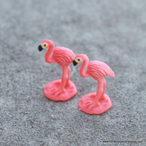 Tiny Pink Flamingos