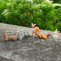 Primative Woodland Animals (Set of 8)