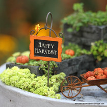 Happy Harvest Garden Sign