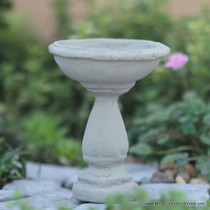 Antique Birdbath (with Stake)