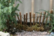 Natural Twig Fence