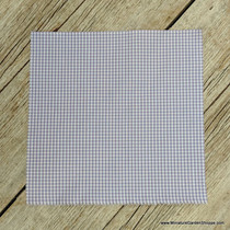 Checkered Picnic Fabric - Lavender