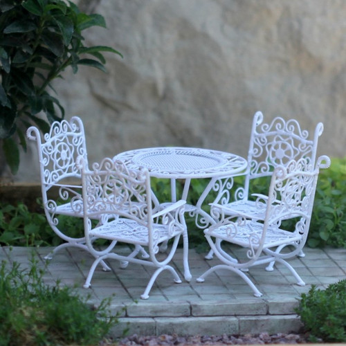 Victorian Patio Dining Set