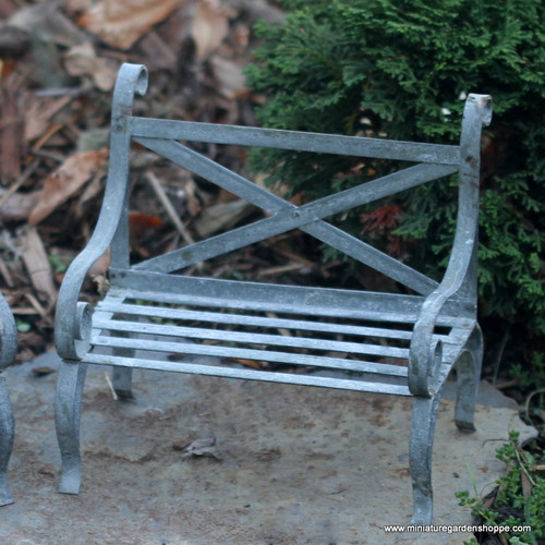 Large Scale Garden Bench