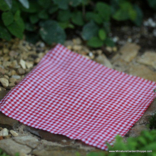 Checkered Picnic Fabric