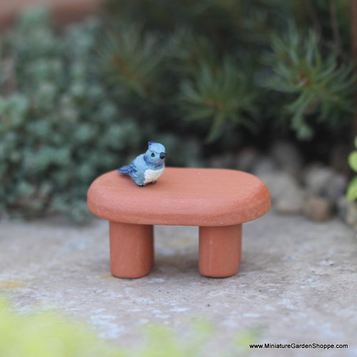 Little Terra Cotta Bench