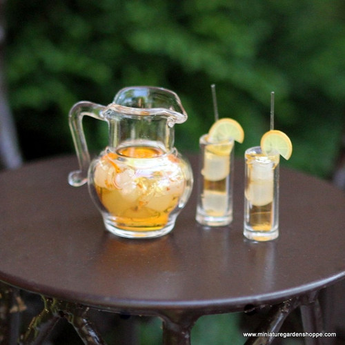 Iced Tea Pitcher Set