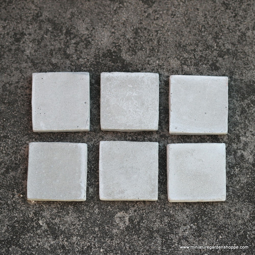 """Concrete"" Stepping Stones - Square"