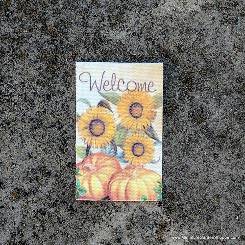 Harvest Welcome Garden Flag