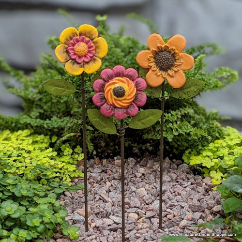 Flower Stakes (Set of 3)