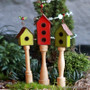 Holly Berry Birdhouses