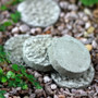 """Concrete"" Stepping Stones - Round"
