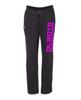 Ol Boys Outdoors Women's Lightweight Open Bottom Sweatpants (Pink Ink)