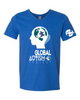 Global Autism Project Softstyle V-Neck T-Shirt