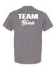 Team Gina - DryBlend 50/50 T-Shirt