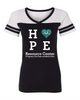 Hope Resource Center - Women's Powder Puff T-Shirt (Vinyl/Glitter)