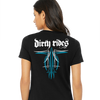 Dirty Rides - Women's V-Neck Tee