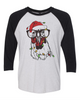Christmas Chicken - Three-Quarter Sleeve