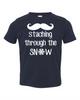 Staching Through the Snow - Toddler Tee