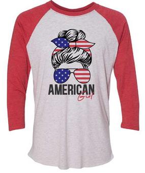 American Girl - 3/4 Sleeve