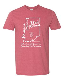 72nd Annual Persimmon Festival - T-Shirt (Gildan Softstyle)