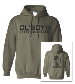 Ol' Boys Outdoors Vintage 1.0 (Black Ink) - Hoodie