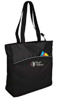 Playful Pathways - Two-Tone Colorblock Tote