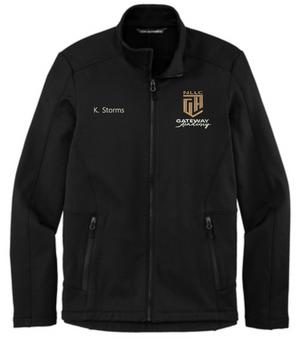 Gateway Academy - Fleece Grid Jacket - Free Personalization