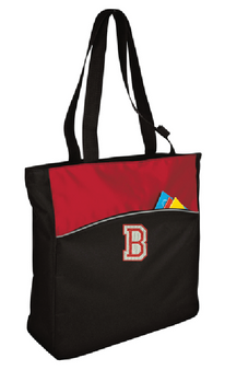 Bedford Middle School - Two-Tone Colorblock Tote