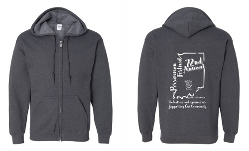 72nd Annual Persimmon Festival - Zip up Hoodie