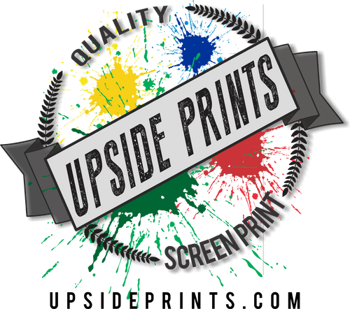 Upside Prints - Decal Sticker