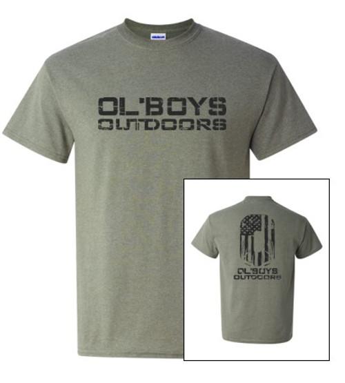Ol' Boys Outdoors Vintage 1.0 (Black Ink) - T-Shirt