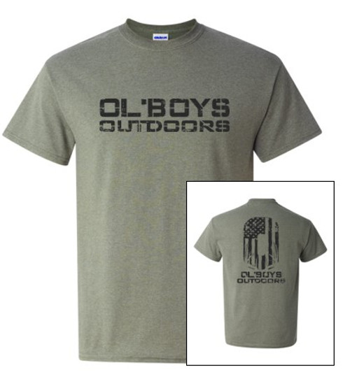 YOUTH Ol' Boys Outdoors Vintage 1.0 (Black Ink) - Youth T-Shirt