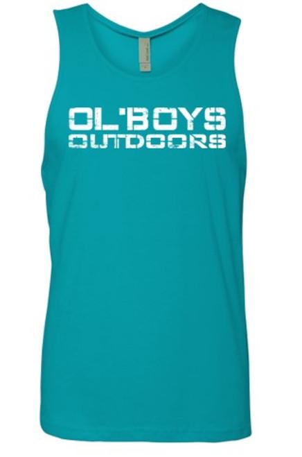 Ol' Boys Outdoors Vintage 1.0 (White Ink) - Unisex Tank Top