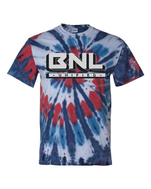 BNL Unified Multi-Color Cut-Spiral Short Sleeve T-Shirt