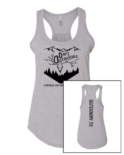Day's Outdoors Women's Gathered Racerback Tank
