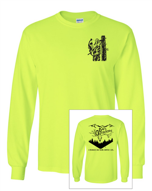 Days Outdoors Ultra Cotton Long Sleeve T-Shirt - Hunting  Design