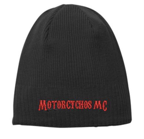 Motorcychos Member - Men's Gear - Knit Beanie Motorcychos MC Design
