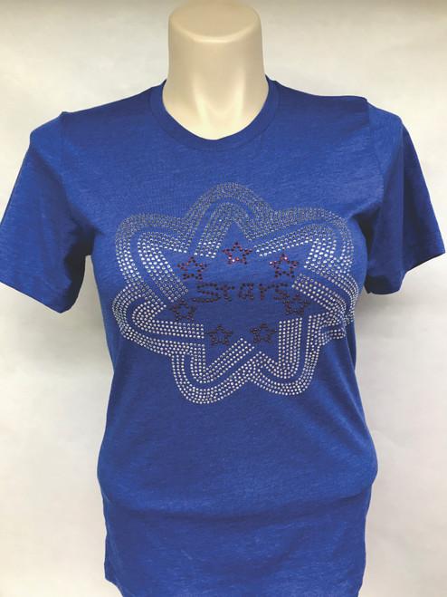 Rhinestone - BNL Stars - Blue Shirt