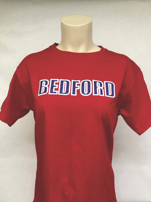 Bedford Embroidery and Glitter Tee