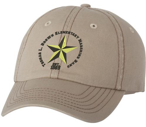Star United - Thomas L Brown - Black Lettering - Dad's Cap