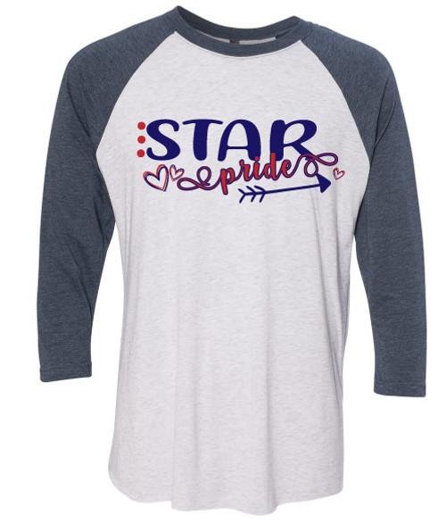Star Pride - Baseball Tee