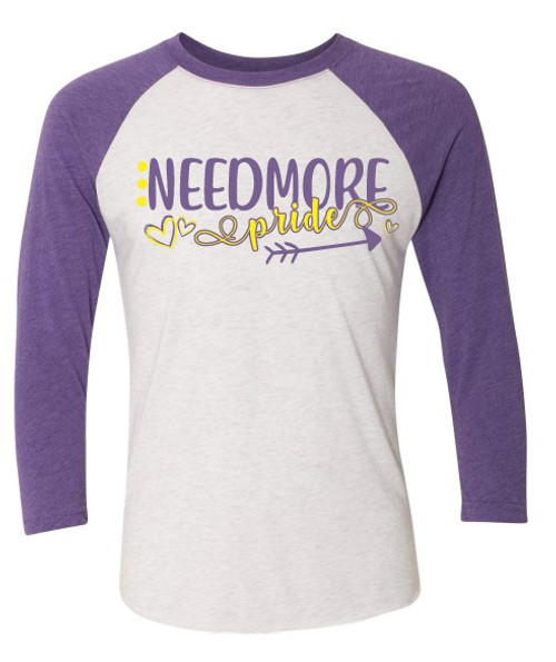 Needmore Pride - Baseball Tee