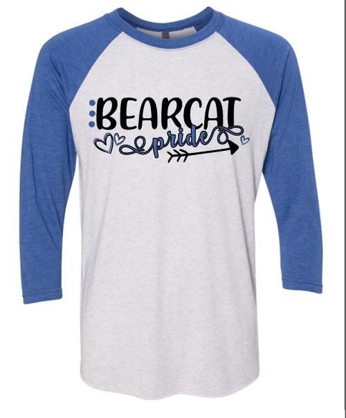 Bearcat Pride - Baseball Tee