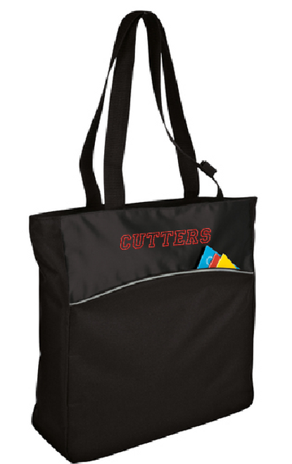 Cutters - Two-Tone Colorblock Tote