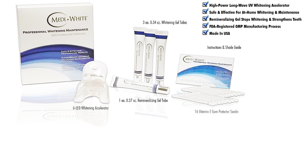 22% CP Professional Whitening Maintenance Kit