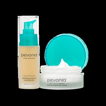 Sensitive Skin Cream + Serum Duo