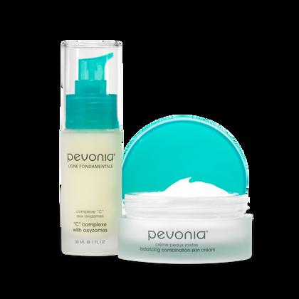 Combination Skin Cream + Serum Duo