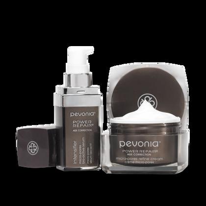 Micro-Pores Refine Cream + Serum Duo